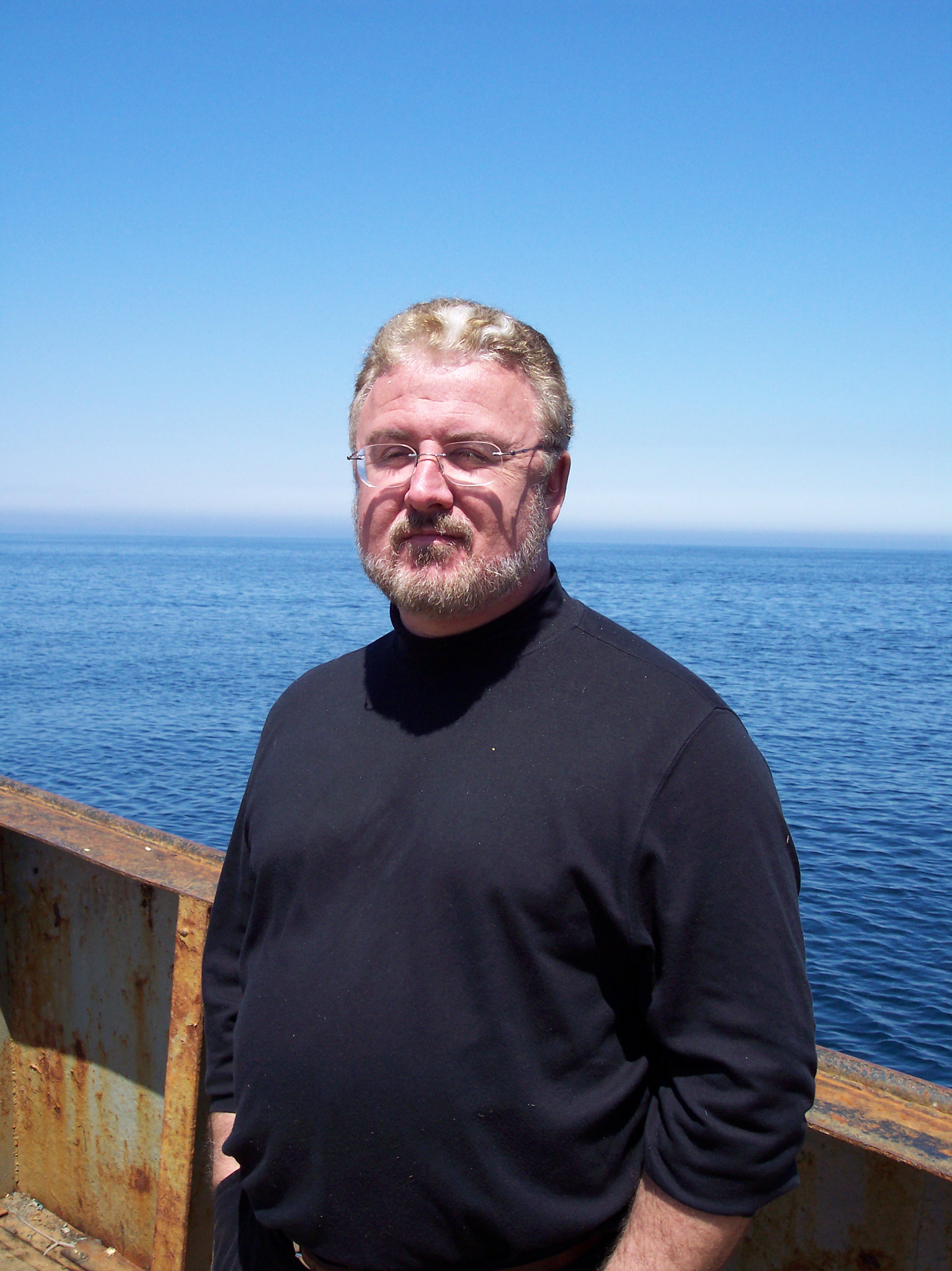 002 Jim Delgado, a legend in shipwreck research and archeology