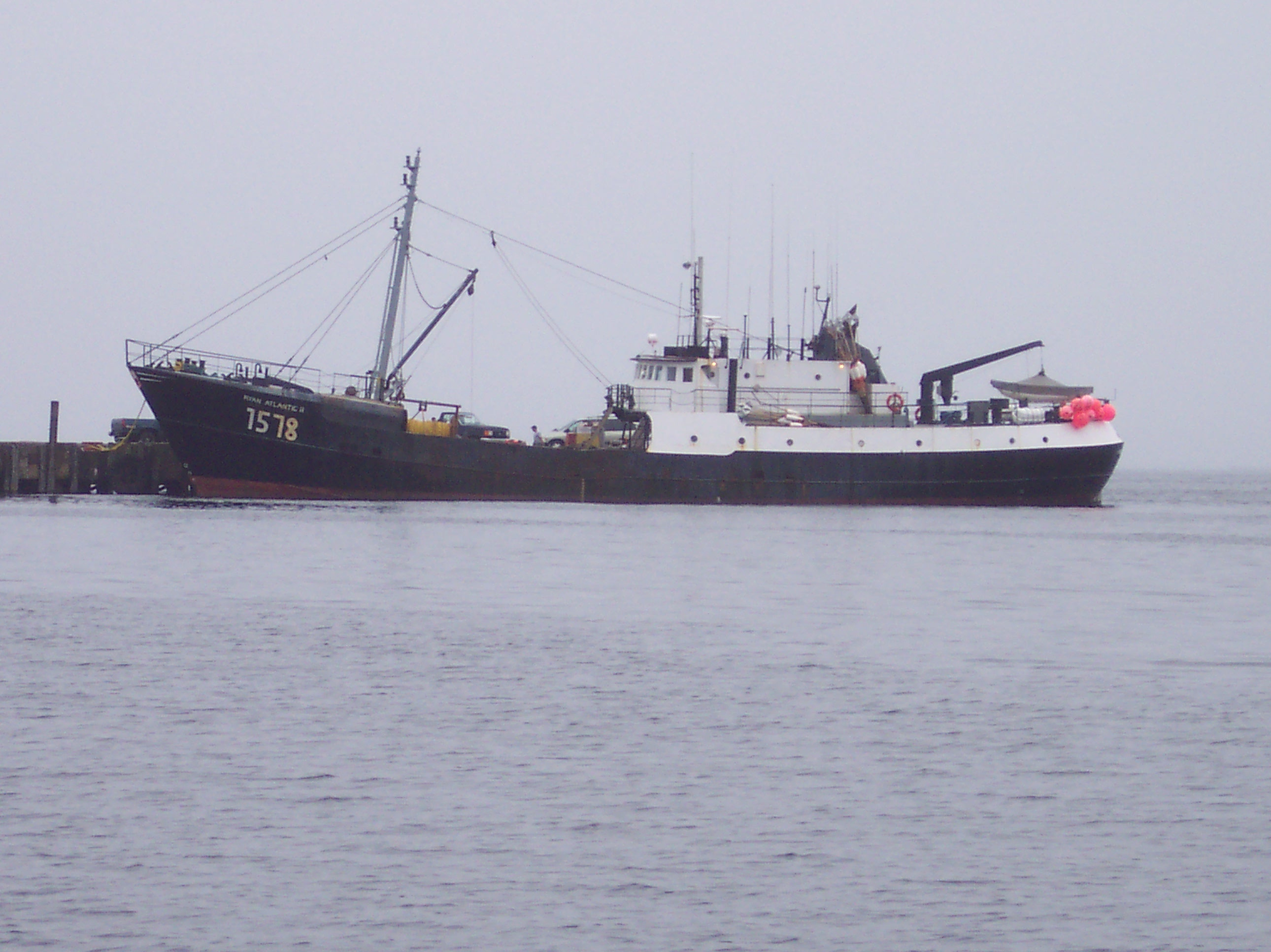 003 Ryan Atlantic II, an ofshore lobster boat would be our support vessel.
