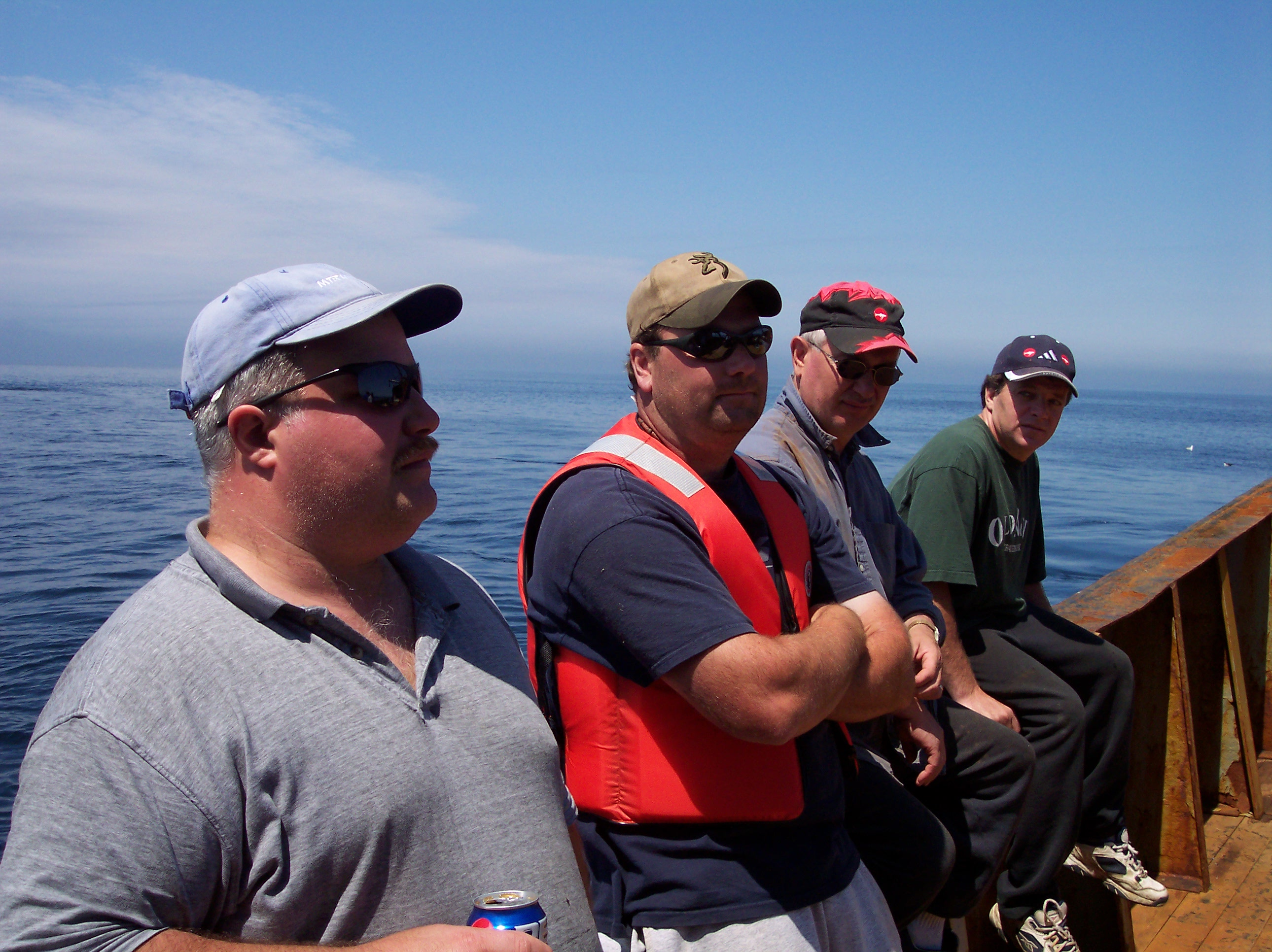 006 Support diver Paul and the crew of the Ryan Atlantic II
