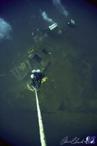 Akela Bridge OC divers