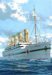 Britannic Courtesy of Ken Marschall