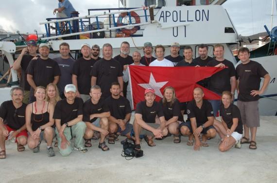 Britannic-Dive-Team 2006