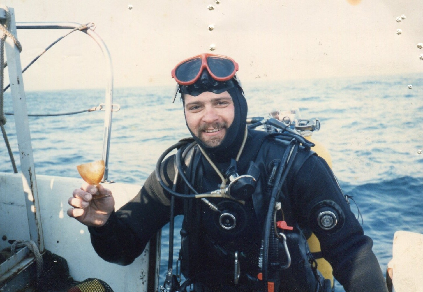 1986 my first Andrea Doria expedition