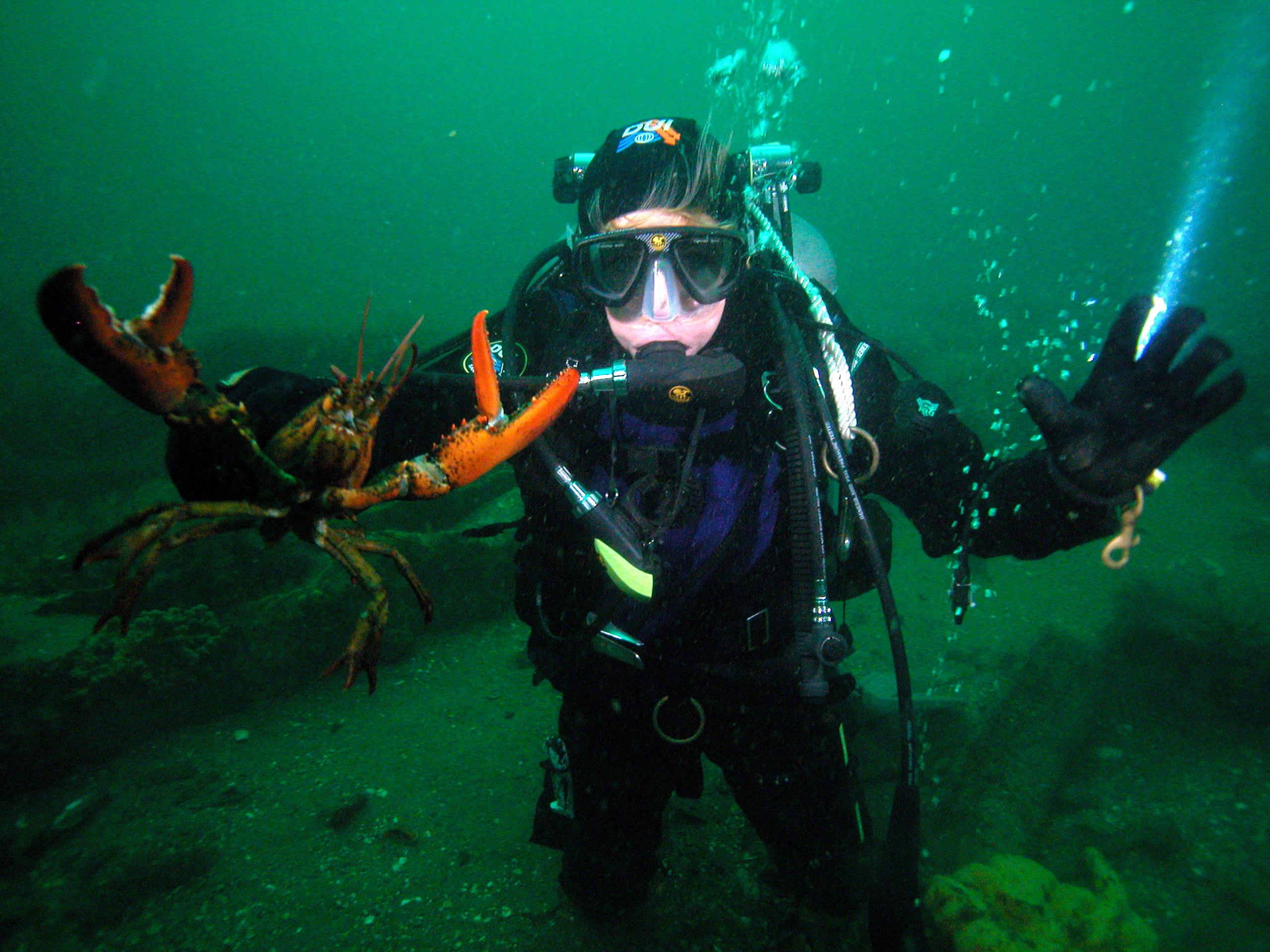 2003 Lobster dive on SS Mohawk NJ coast