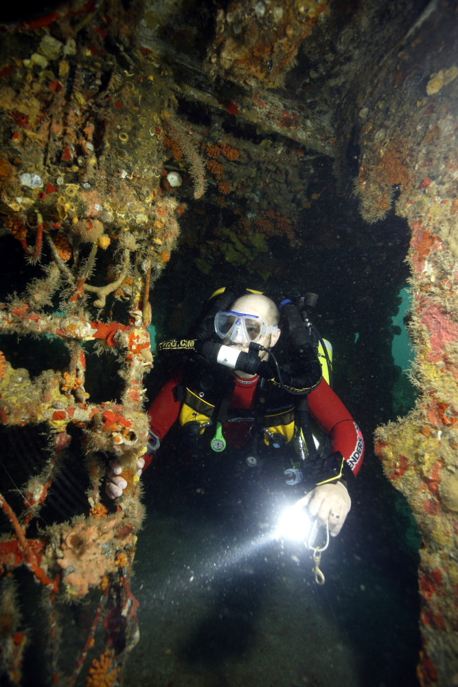 2005 Diving with Stephen Frink on the Duane in Key Largo Fl
