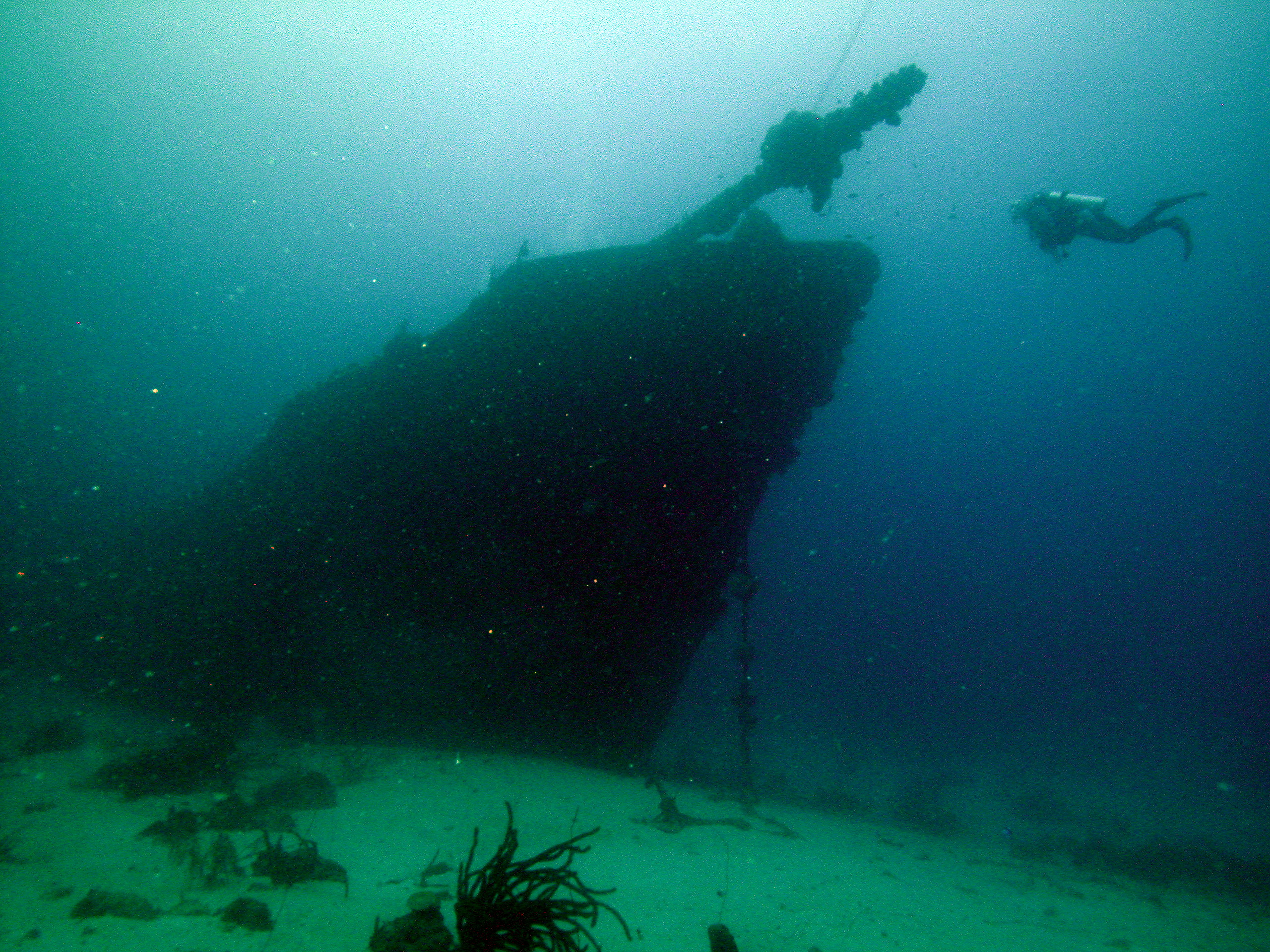 2006 Curacao, wreck of the Superior Producer