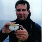 1999 Andrea Doria John Chatterton and 2nd class china.jpg