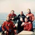 AWD aboard Wahoo, Andrea Doria Charter 1989