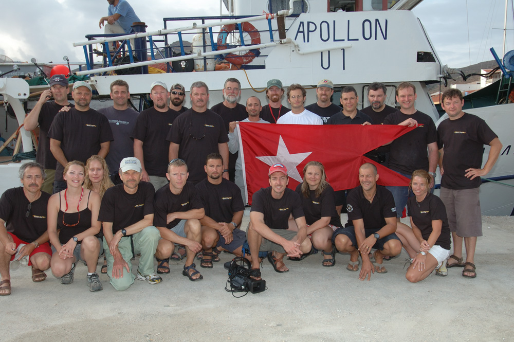 2006-001-Britannic-Dive-Team