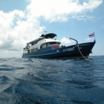 2008 The MV Trident at 160 miles out in the Gulf of Thailand